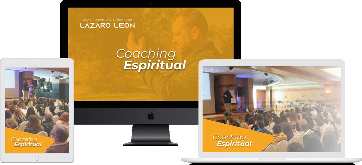 Lazaro Leon - Coaching Espiritual - Mockup