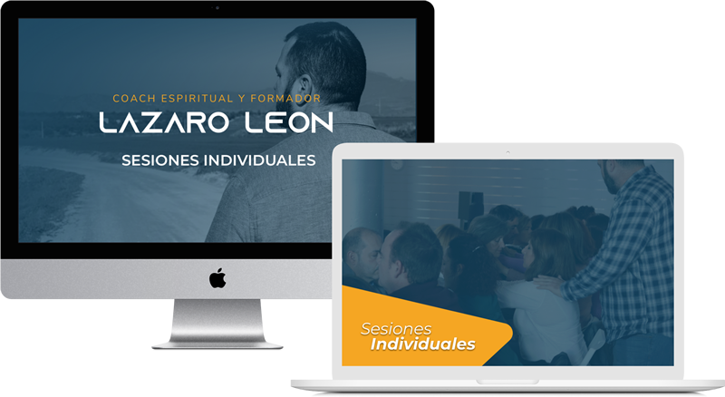 Lazaro Leon - Sesiones Individuales - Mockup