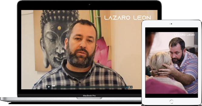 Lazaro Leon - Meditaciones Guiadas - Mockup