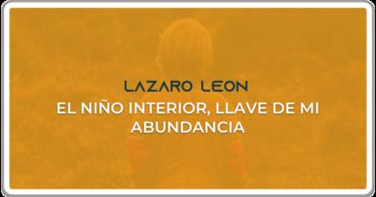 Lazaro Leon - El nino interior - Caratula